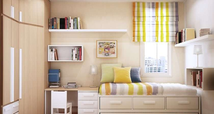Space Saving Ideas Small Kids Rooms