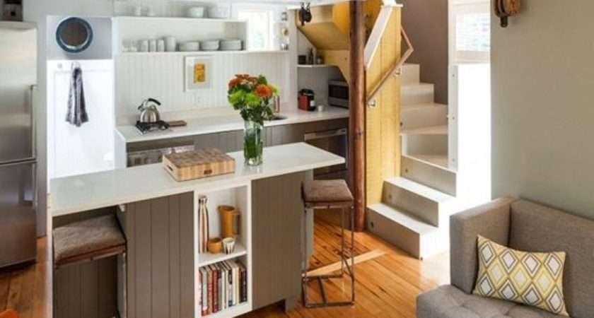 Space Saving Micro House Design Ideas Interior