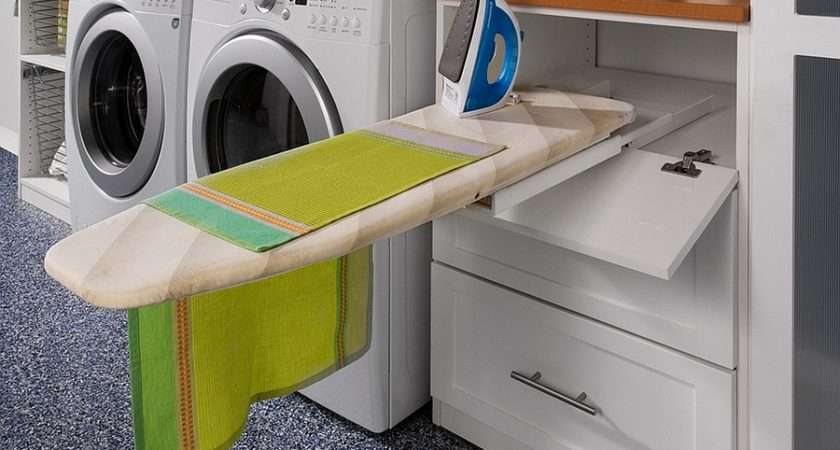 Space Saving Multipurpose Laundry Rooms