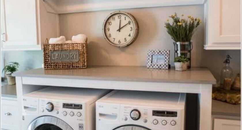 Space Saving Tips Small Laundry Room
