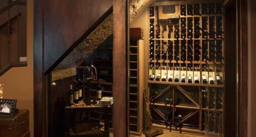 Space Savvy Under Stairs Wine Cellar Ideas Home