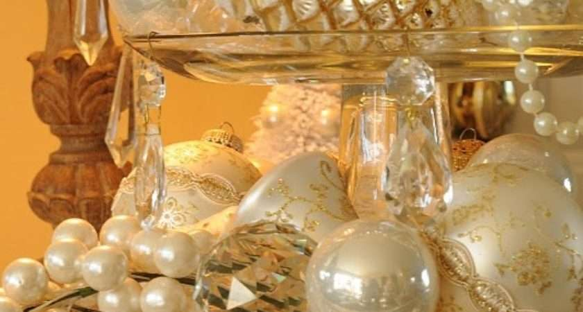 Sparkling Gold Silver Christmas Decorations Sortra