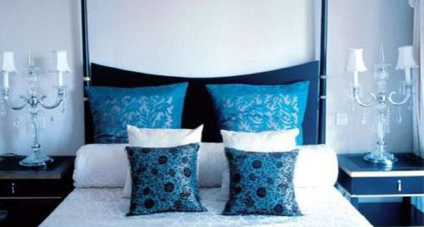Special Inspiration Blue White Bedroom Interiordecodir
