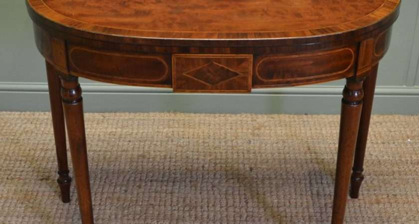 Spectacular Quality Regency Mahogany Antique Inlaid End
