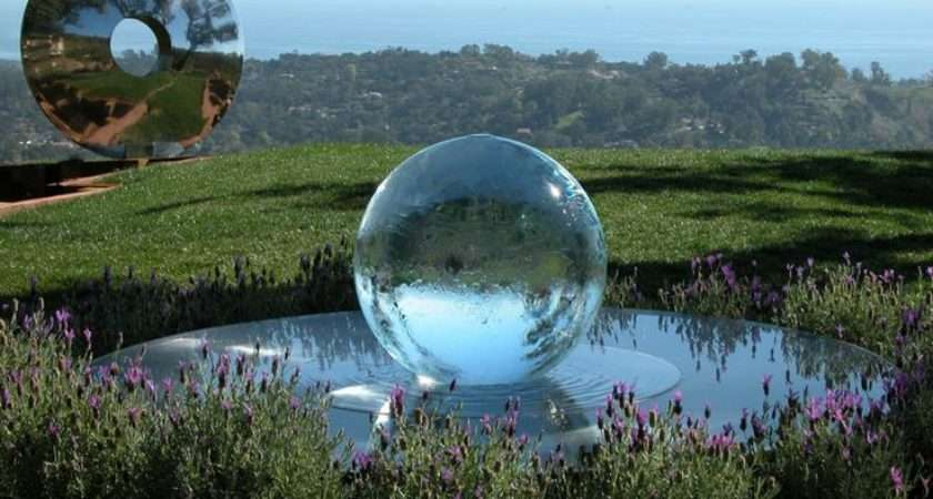 Sphere Fountains Water Features Your Garden Allison Armour