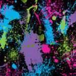 Splatter Paint Bedroom Pinterest Cheetah Print Walls Glass