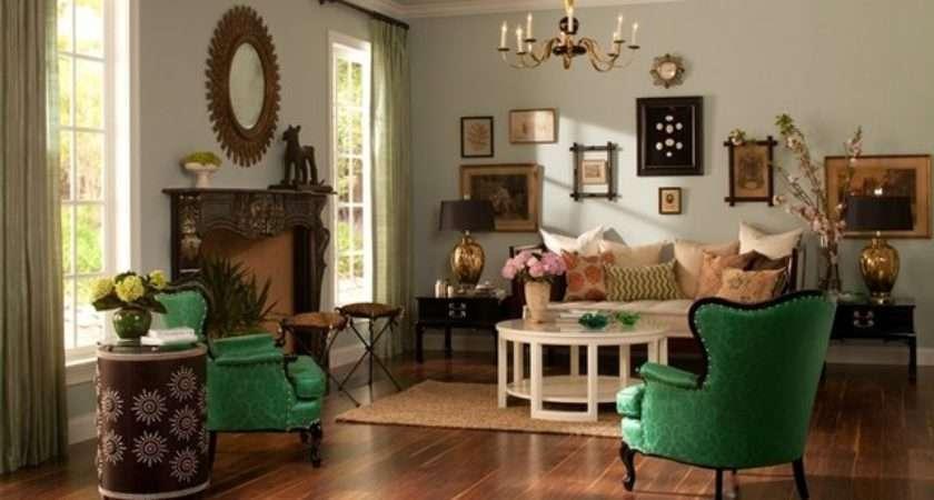 Splurge Steal Vintage Chic Living Room Ehow