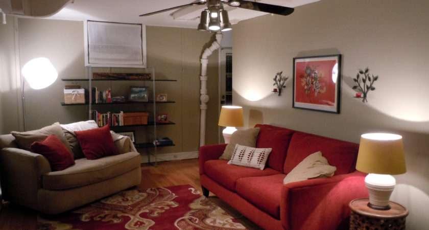 Spotlight Basement Living Space Functional Fashionable