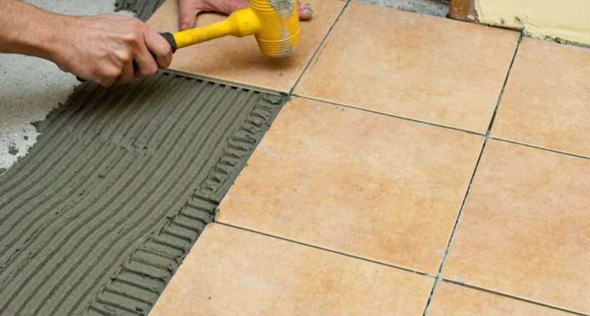 Spread Tile Adhesive Howtospecialist Build Step