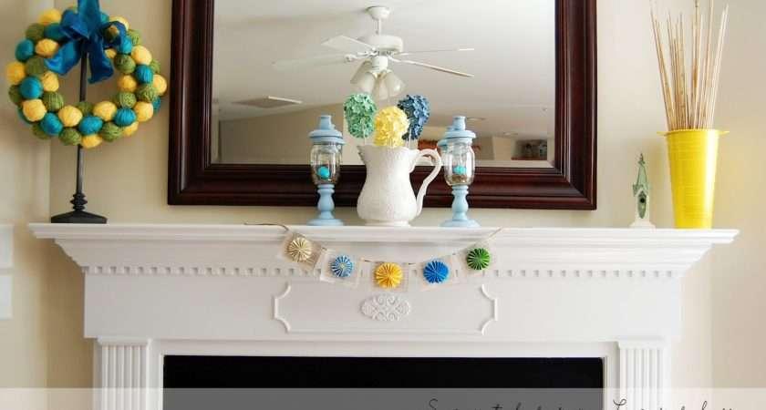 Spring Decorating Ideas Your Fireplace Mantel Shelf Design