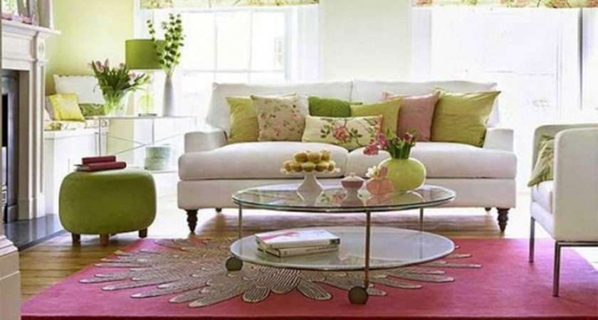 Spring Living Rooms Get Decorating Ideas