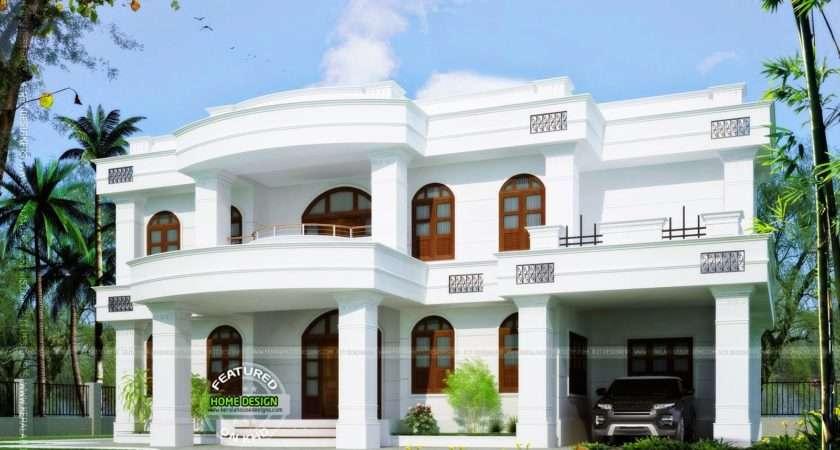 Square Feet Beautiful Home Kerala Design Floor Plans