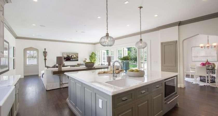 Square Kitchen Islands Home Design