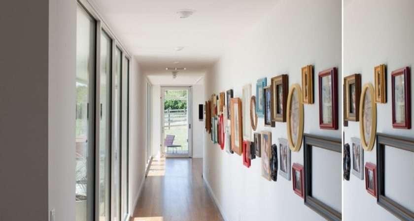 Squeezing Style Into Narrow Hallway