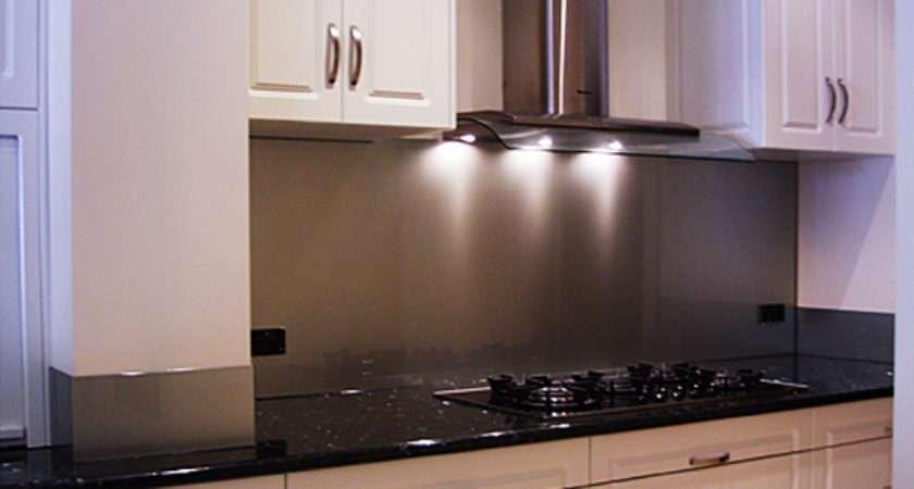 Stainless Steel Kitchen Splashback Design