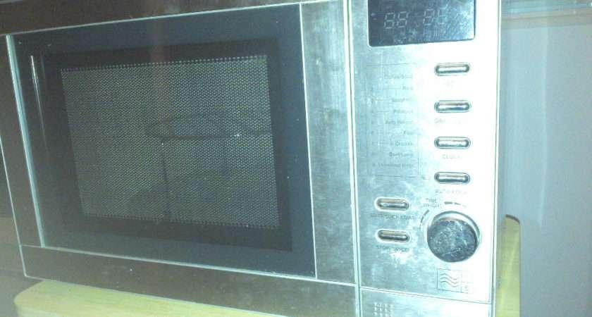Stainless Steel Microwave Tesco
