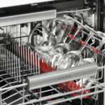 Stainless Steel Rated Quiet Place Setting Dishwasher