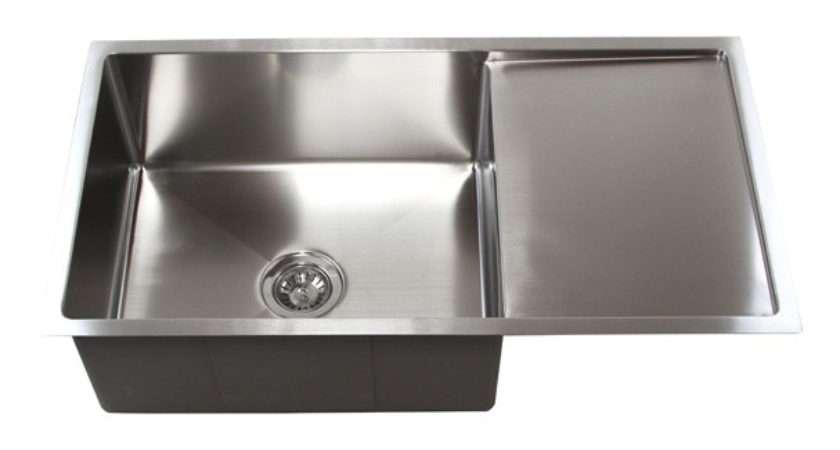 Stainless Steel Undermount Kitchen Sink Drain Board Cfs
