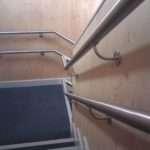 Stainless Steel Wall Rail Dda Compliant Brackets