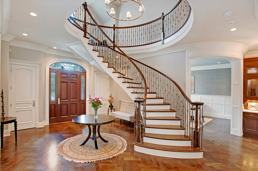 Staircase Wall Decorating Ideas Architectural Design