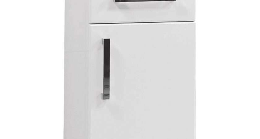 Standing Bathroom Cabinets White