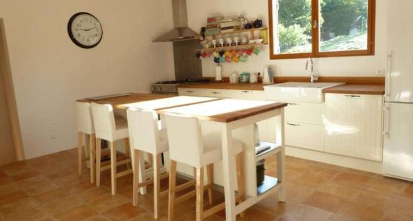 Standing Kitchen Islands Oak Seating