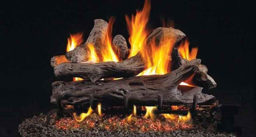 Start Using Fake Fireplace Logs Green