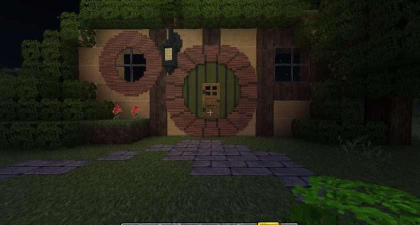 Started Building Hobbit Hole Guys Think Minecraft