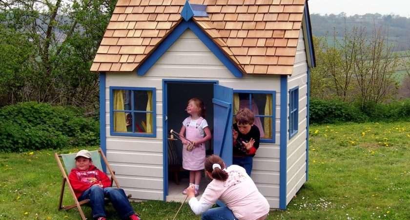 Started Making Designer Children Playhouses Years Ago