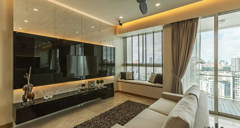 Statement Making Feature Walls Your Living Room