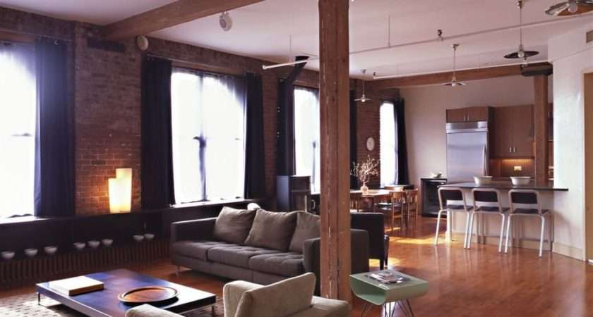 States New York City Gut Renovated Loft Apartment Interior Design