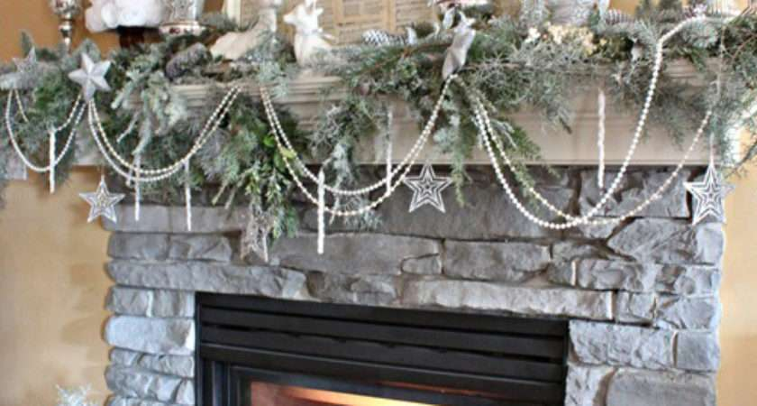 Stealing Christmas Recreate Holiday Mantel Displays