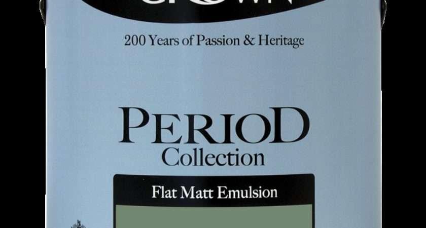 Steam Engine Matt Period Collection Crown Paints