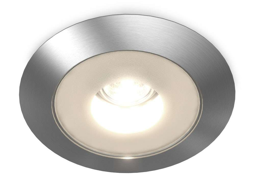 Steam Room Shower Light Recessed Diameter Metal Glass Lens