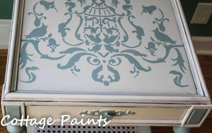 Step Decoupage Instructions Furniture Remix Diy Pinterest