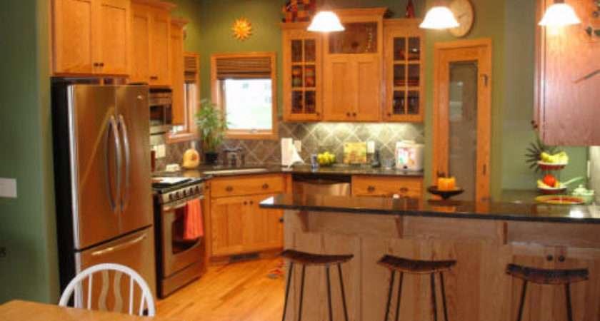 Steps Choose Kitchen Paint Colors Oak Cabinets