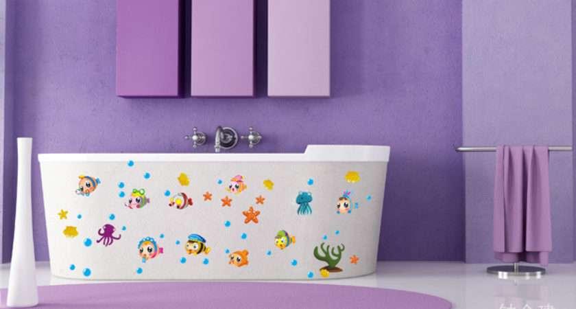 Stickers Bathroom Tile Decor Waterproof Sticker