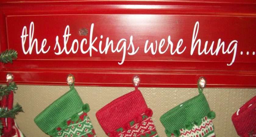 Stockings Perfect Don Have Fireplace Hang Your