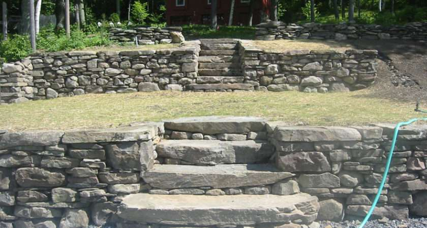 Stone Wall Field Pillars Retaining Walls