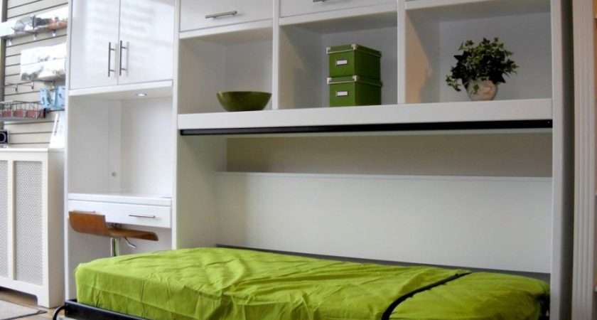 Storage Cabinet Also Hidden Bed Design Suitable Small Apartment