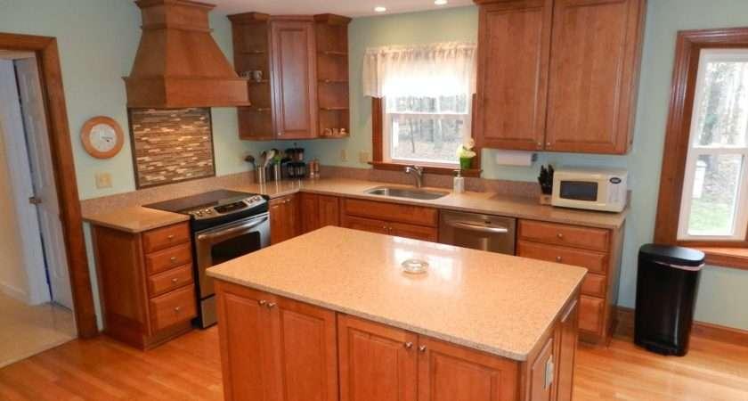 Storage Compact Refrigerator Design Also Beautiful Wooden Kitchen