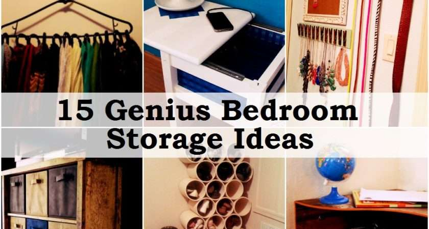Storage Ideas Small Bedrooms Cozy Home Feel Industry