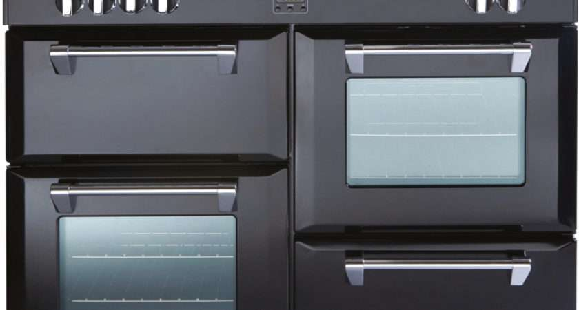 Stoves Richmond Black Electric Induction Range Cooker