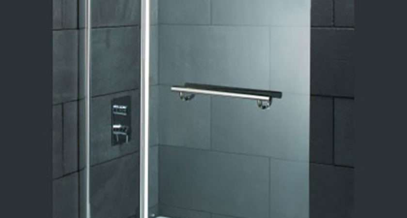 Straight Top Hinged Double Bath Shower Screen