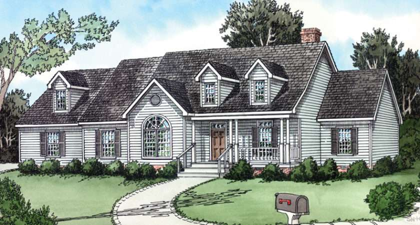 Straightoak Country Ranch Home Plan House