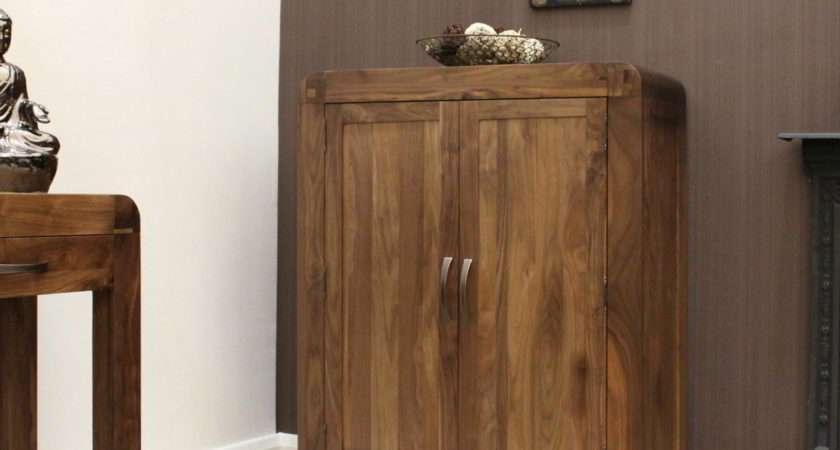 Strathmore Solid Walnut Home Furniture Hallway Shoe