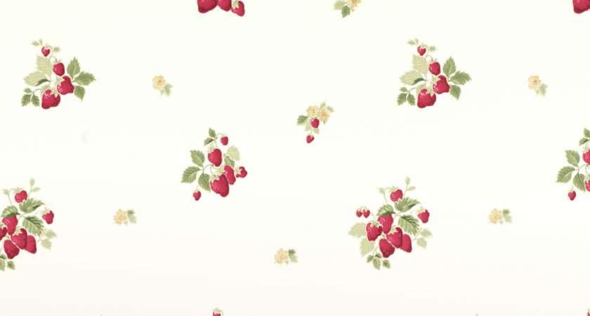 Strawberries Cranberry Laura Ashley