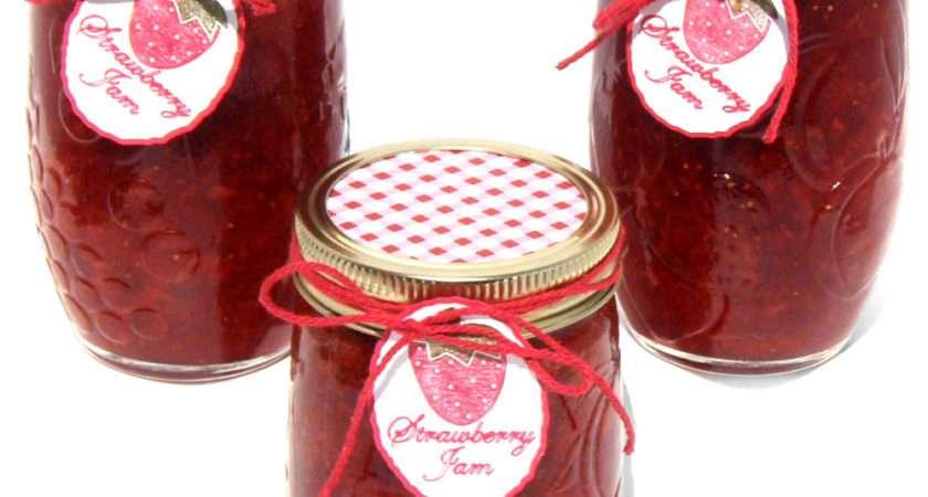 Strawberry Jam Jar Gift Pazzles Craft Room