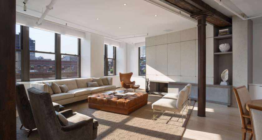 Street Loft Location New York Architect Leone Design