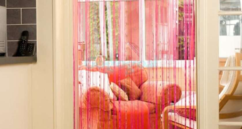 String Door Curtain Beads Window Treatments Design